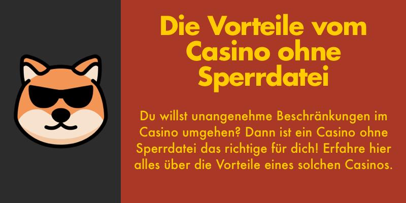 online casino ohne sperrdatei