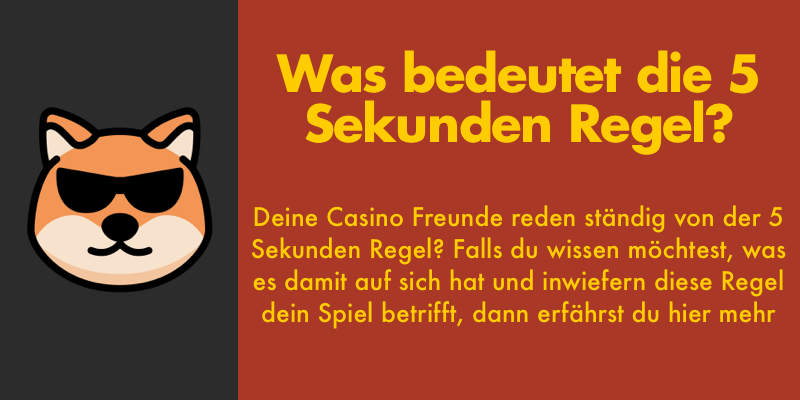 Casino ohne 5 Sekunden Regel
